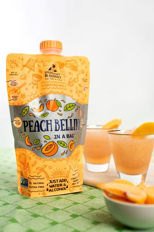 Non-GMO Peach Bellini in a Bag