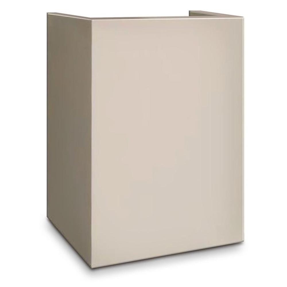 Mesa MP101 Hotel Safe Pedestal - White