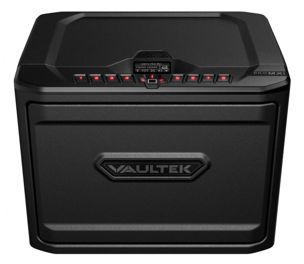 VAULTEK MXi Large Capacity Rugged Biometric Bluetooth Smart Safe - Stealth Black