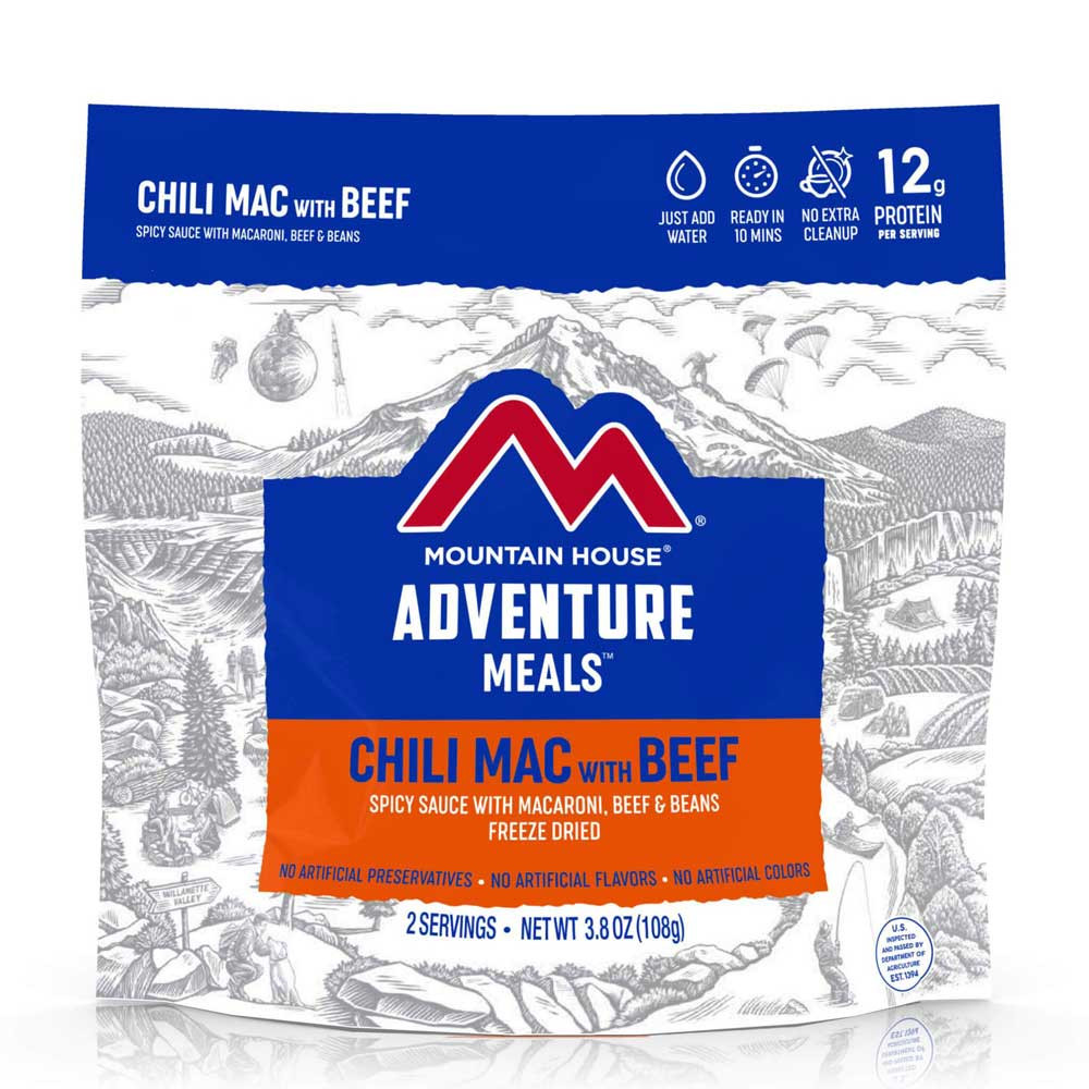 Mountain House Chili Mac with Beef (Case of 6 Pouches)