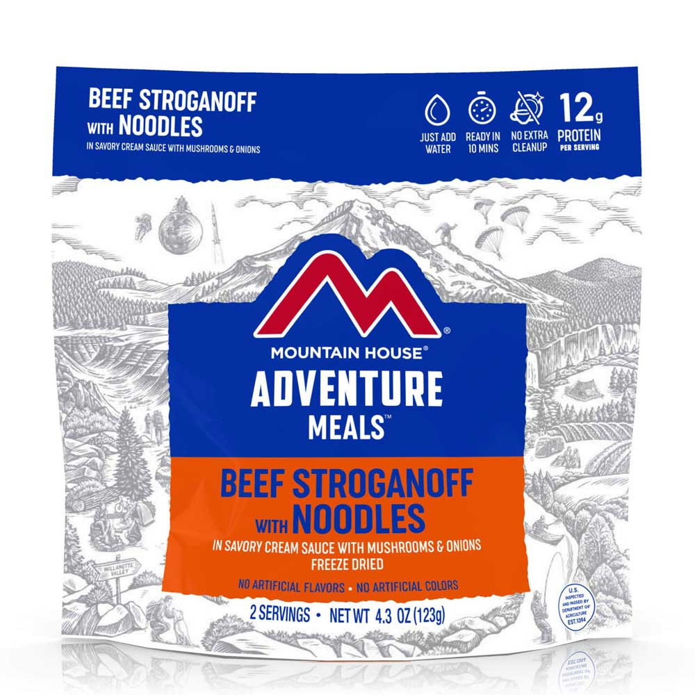 Mountain House Beef Stroganoff (Case of 6 Pouches)