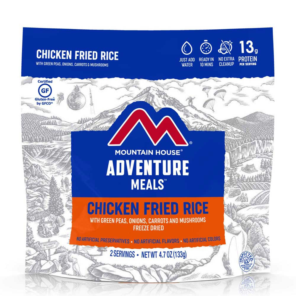 Mountain House Chicken Fried Rice (Case of 6 Pouches)