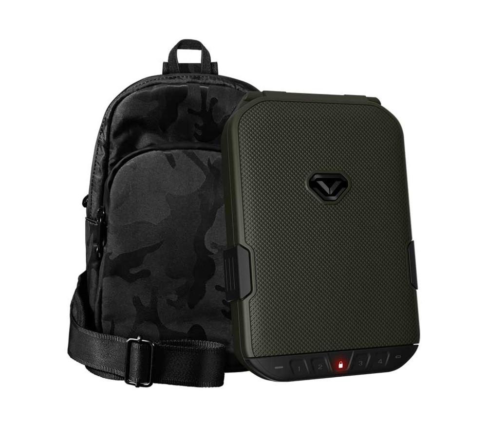 VAULTEK LifePod (Olive Drab) + SlingBag (Camo) TrekPack