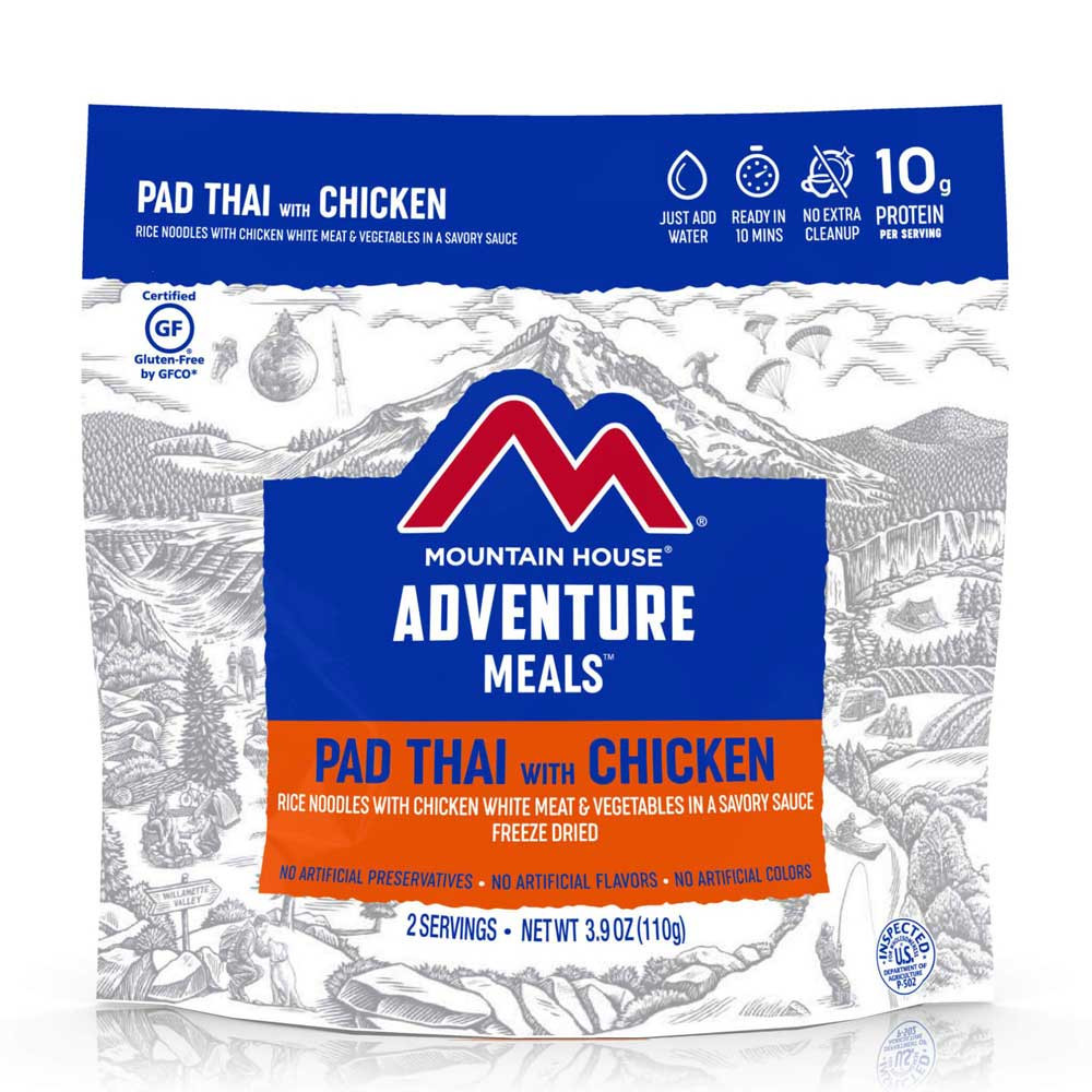 Mountain House Pad Thai with Chicken (Case of 6 Pouches)