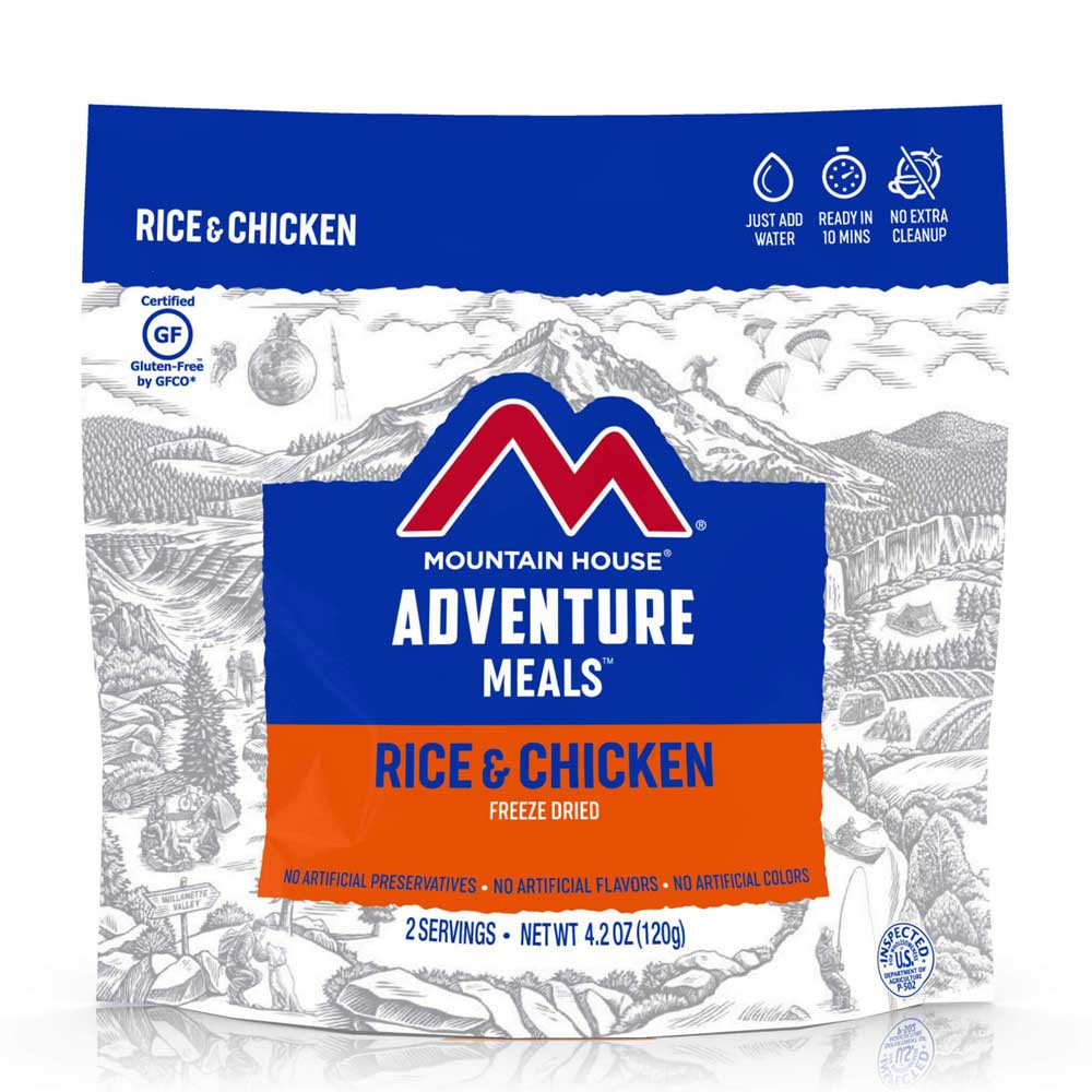 Mountain House Rice & Chicken (Case of 6 Pouches)