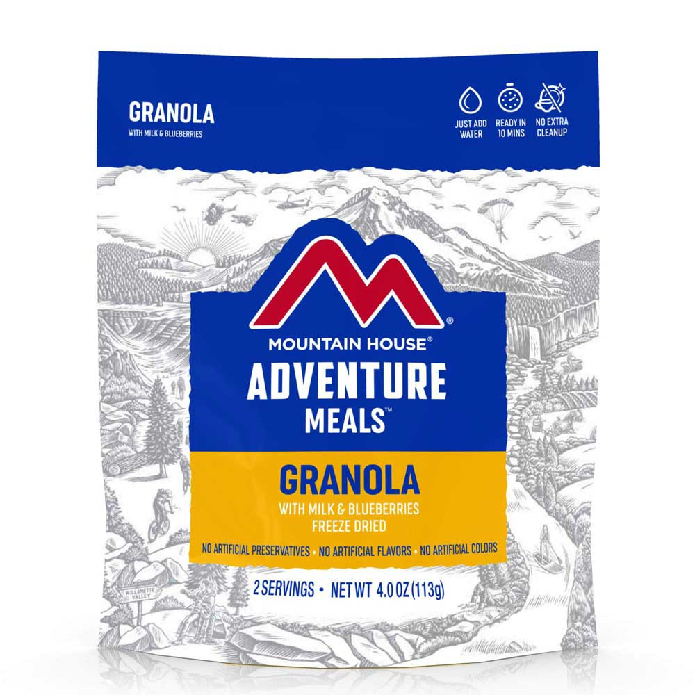 Mountain House Granola with Milk and Blueberries (Case of 6 Pouches)