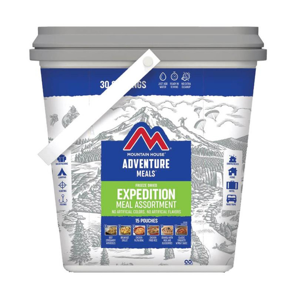 Mountain House Expedition Meal Assortment Bucket - 5 Day Meal Kit