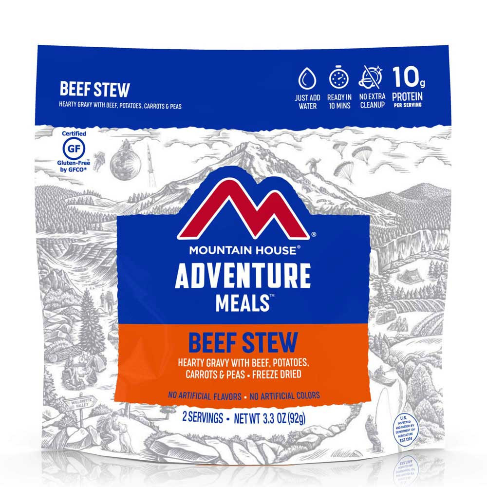 Mountain House Beef Stew (Case of 6 Pouches)