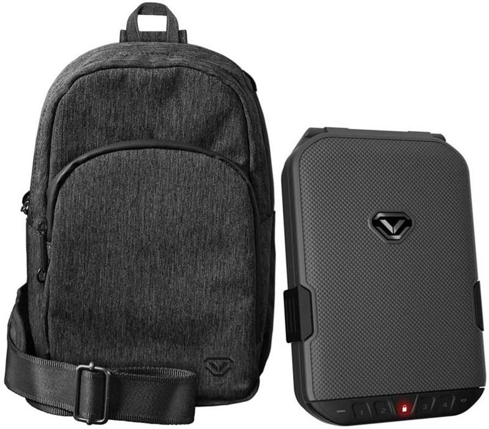 VAULTEK LifePod SlingBag Combo/Titanium Gray LifePod with Gray SlingBag