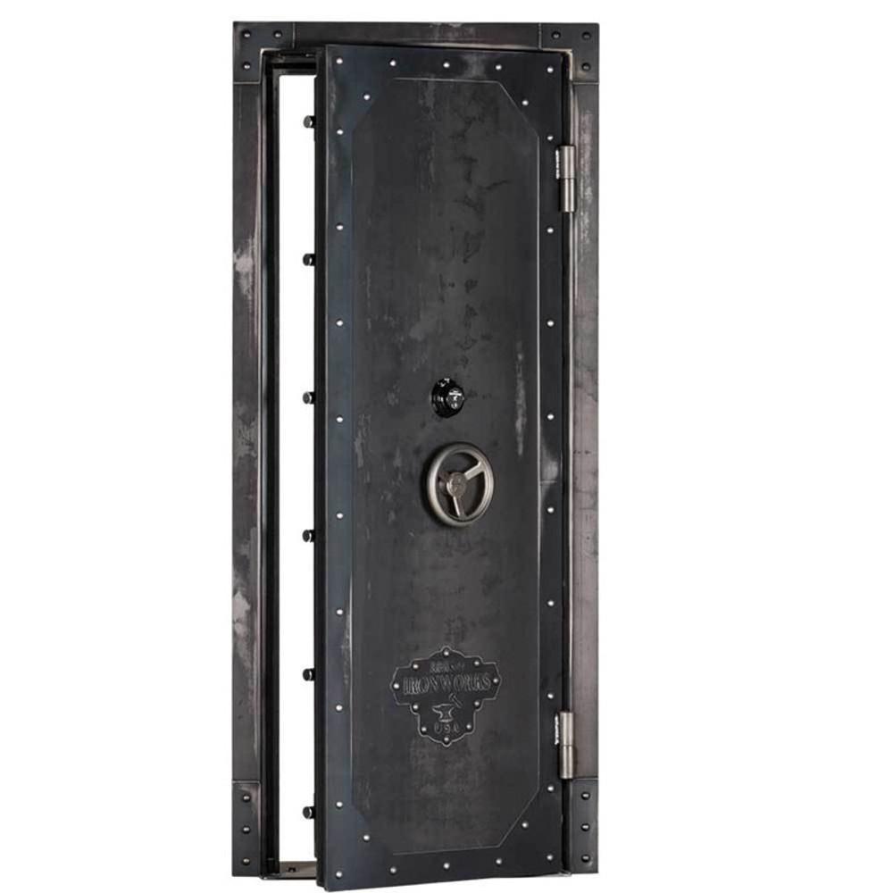 "Rhino Ironworks Out-Swing Vault Door 80""H x 30""W x 8.25""D"