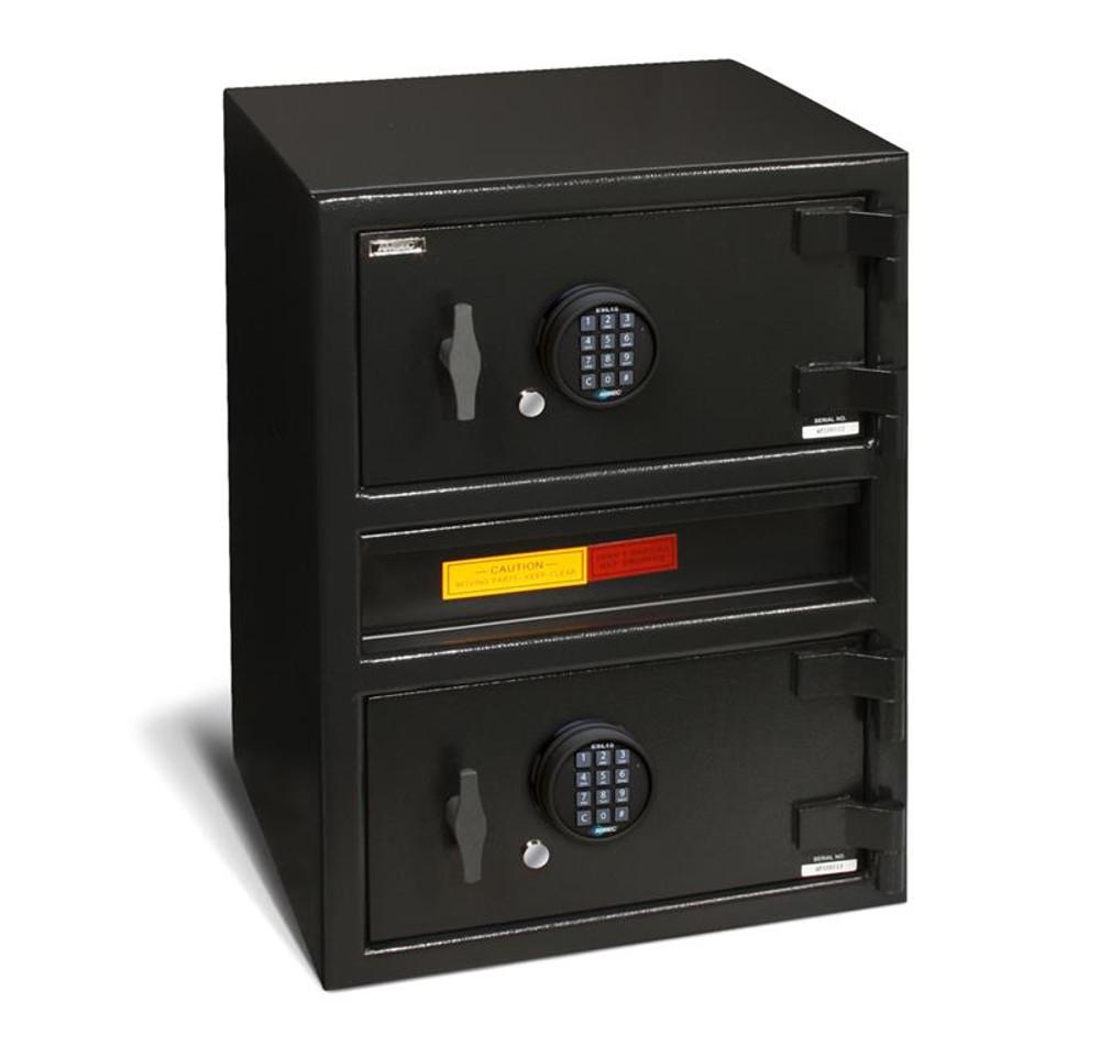 American Security MM2820CTR-Drop-E15 Center Drop Two Door Cash Management Safe
