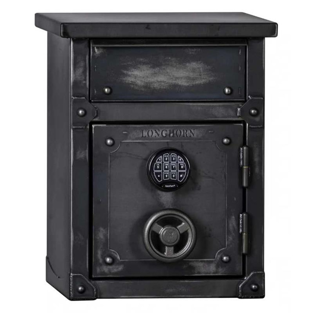 Longhorn LNS2618 60-Minute Security Safe / End Table / Nightstand