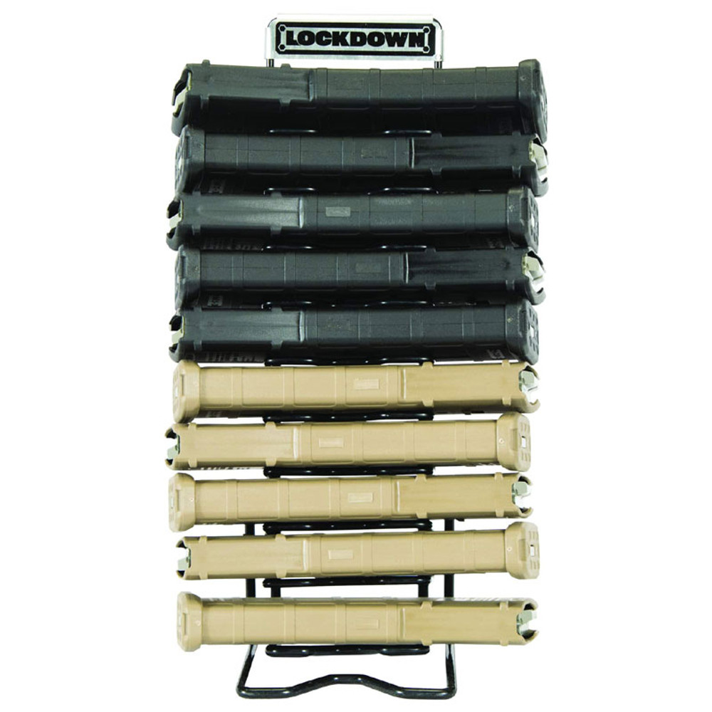 Lockdown AR-15 Magazine Rack