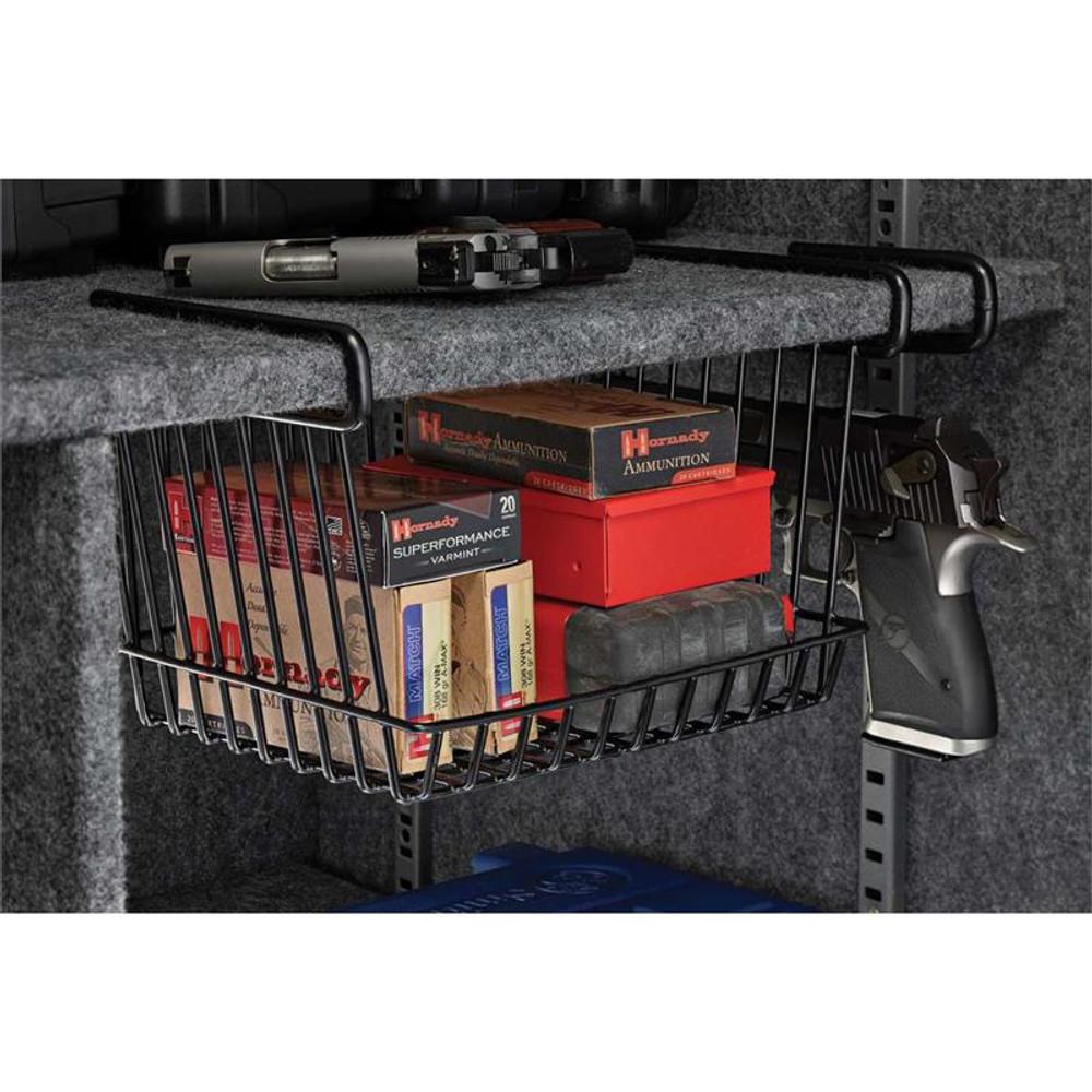 SnapSafe Large Hanging Shelf Basket