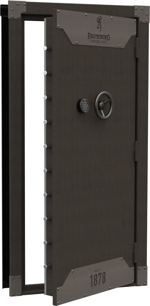 Browning 1878 Series Metal Glaze Clamshell Vault Door - Out-Swing