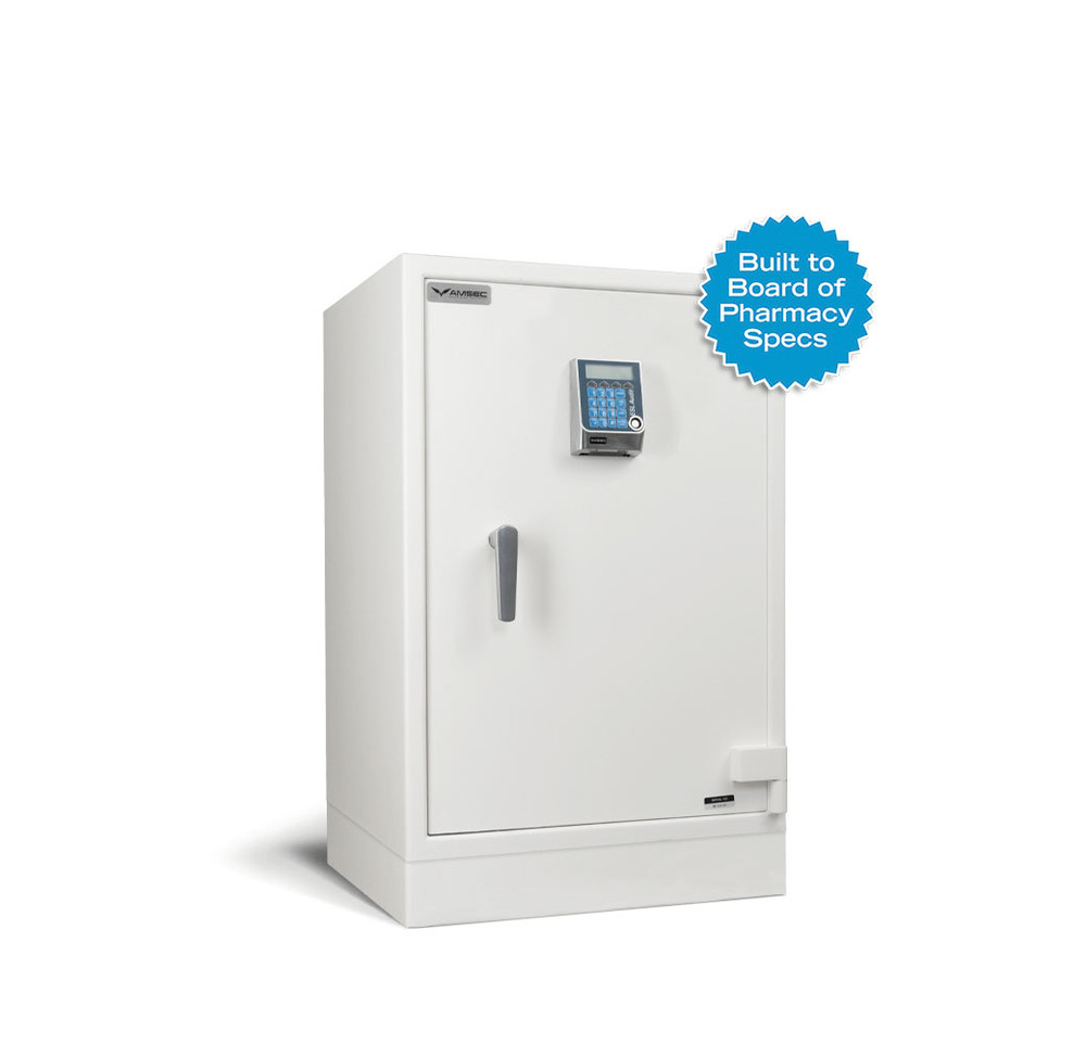 American Security Narco3824 Single Door Pharmacy Safe