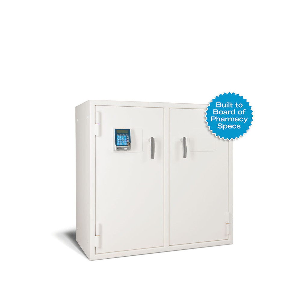 American Security Narco3839 Two Door Pharmacy Safe