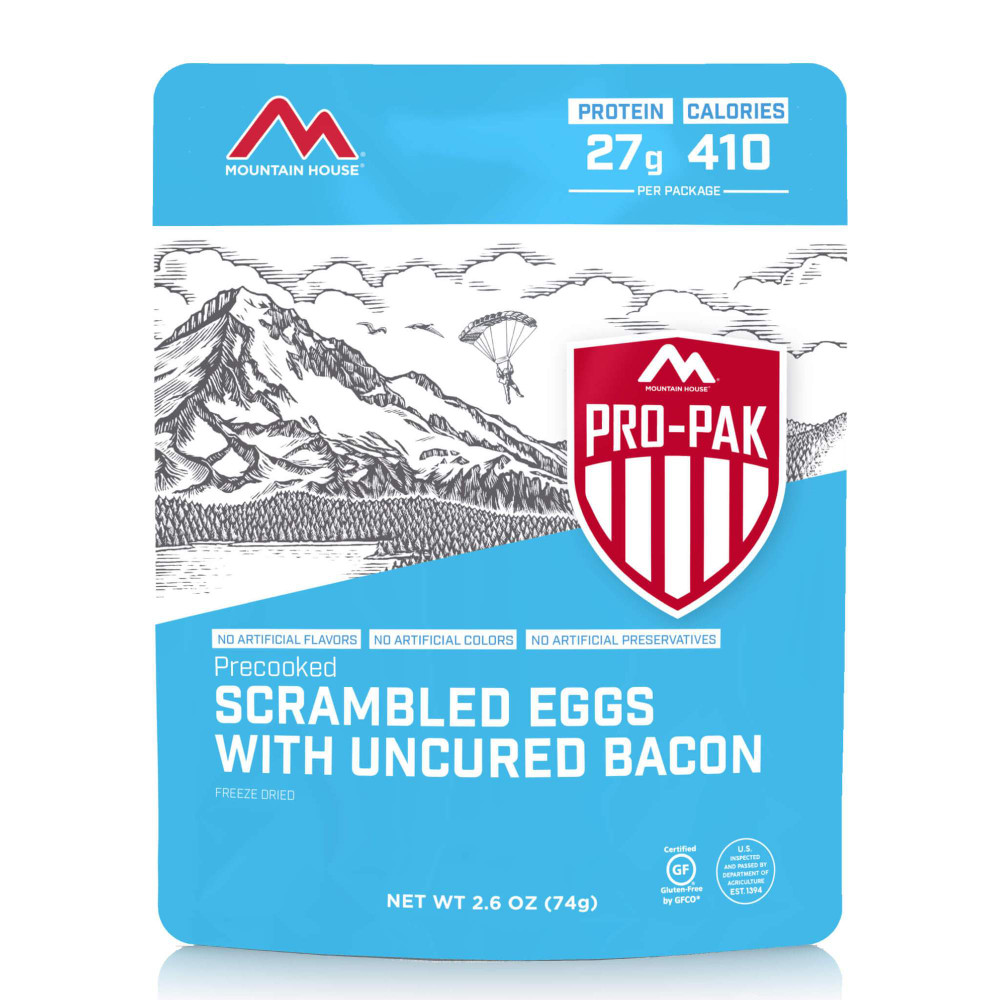 Mountain House Scrambled Eggs with Bacon - Pro-Pak (Case of 6)