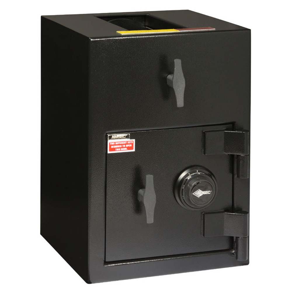 """American Security DST2014 """"B"""" Rated Rotary Top Load Depository Safe-676"""