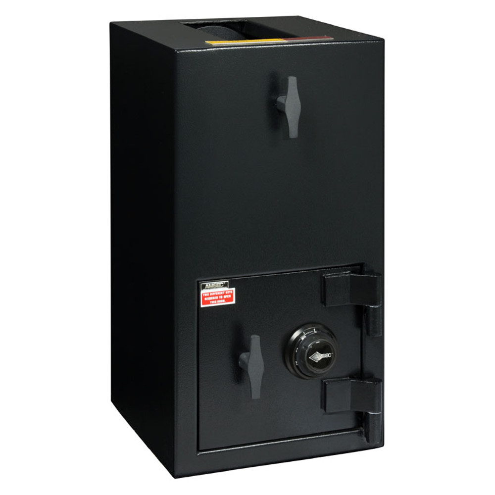 """American Security DST2714 """"B"""" Rated Rotary Top Load Depository Safe-677"""