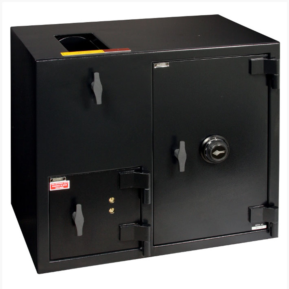"""American Security DST2731 """"B"""" Rated Rotary Top Load Depository Safe-679"""