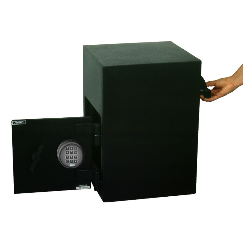 """American Security DSR2014 """"B"""" Rated Rotary Rear Load Depository Safe-680"""