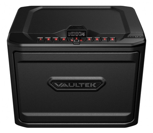 VAULTEK MXi Large Capacity Rugged Biometric Bluetooth Smart Safe - Stealth Black