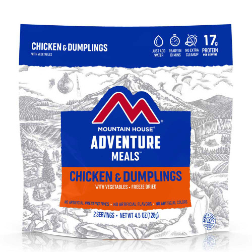 Mountain House Chicken & Dumplings (Case of 6 Pouches)