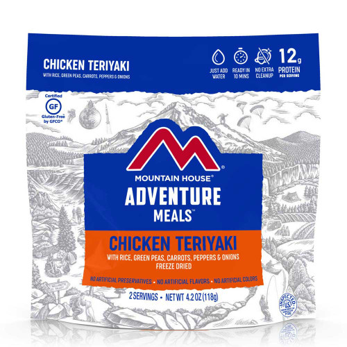 Mountain House Chicken Teriyaki with Rice (Case of 6 Pouches)