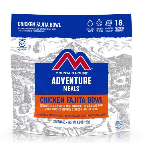 Mountain House Chicken Fajita Bowl (Case of 6 Pouches)