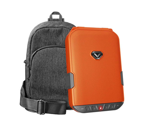 VAULTEK LifePod (Rush Orange) + SlingBag (Gray) TrekPack