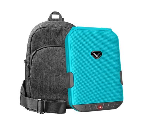 VAULTEK LifePod (Luxe Blue) + SlingBag (Gray) TrekPack