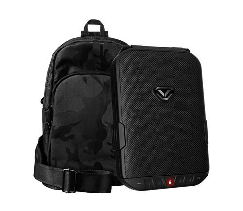VAULTEK LifePod (Covert Black) + SlingBag (Camo) TrekPack