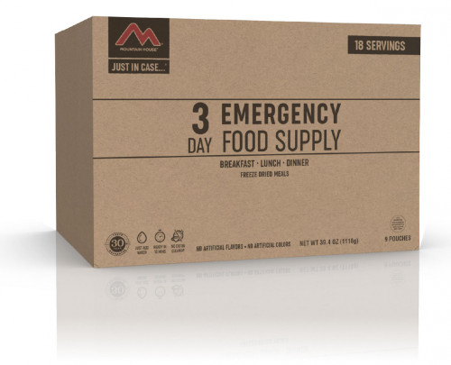 Mountain House Just in Case 3-Day Emergency Food Supply