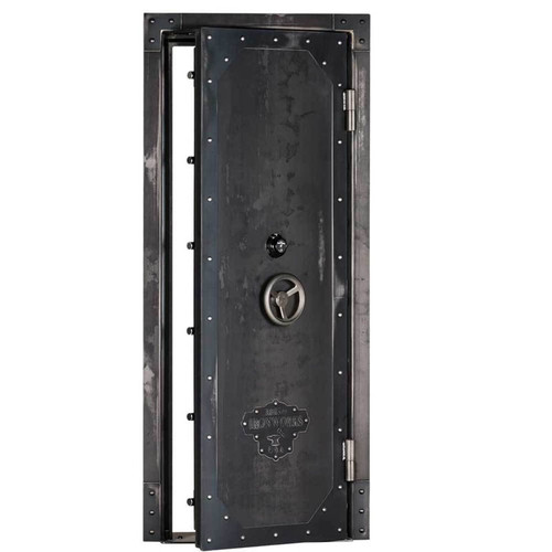 "Rhino Ironworks Out-Swing Vault Door 80""H x 30""W x 8.25""D"