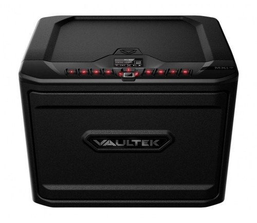 VAULTEK MXi Wi-Fi High Capacity Rugged Biometric Smart Safe - Covert Black