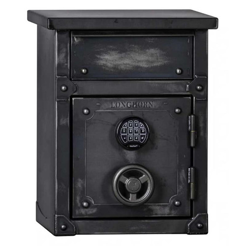 Longhorn LNS2618 40-Minute Security Safe / End Table / Nightstand