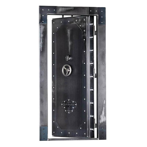 "Rhino Ironworks In-Swing Vault Door 82""H x 40""W x 8""D"