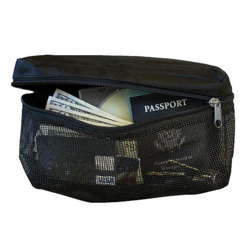 Rhino/Bighorn Small Mesh Velco Zippered Pouch (Pack of 3)