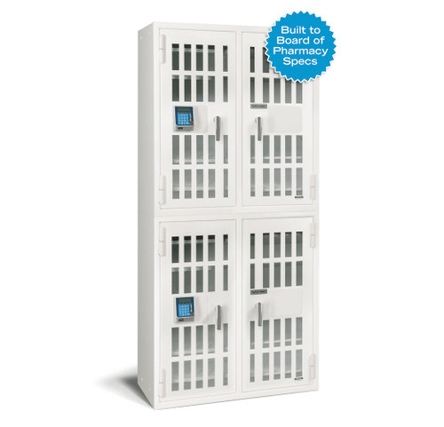 American Security Narco8336 Four Door Pharmacy Safe