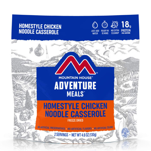 Mountain House Homestyle Chicken Noodle Casserole (Case of 6 Pouches)