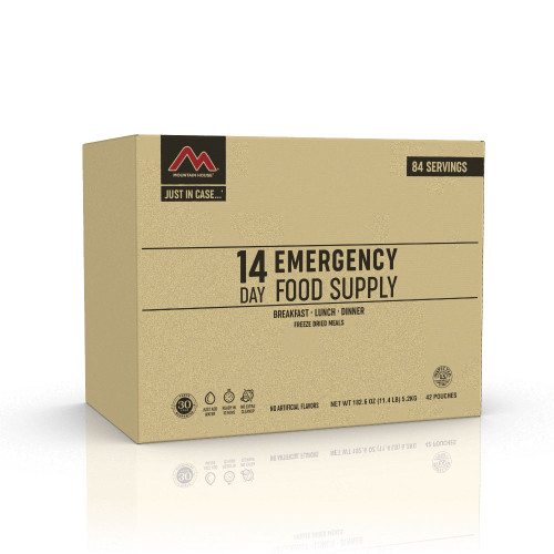 Mountain House Just in Case 14-Day Emergency Food Supply