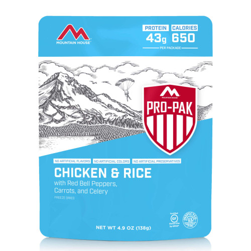 Mountain House Chicken & Rice - Pro-Pak (Case of 6)