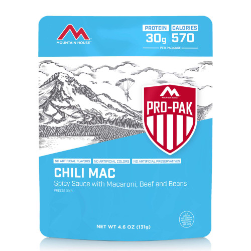 Mountain House Chili Mac with Beef - Pro-Pak (Case of 6)