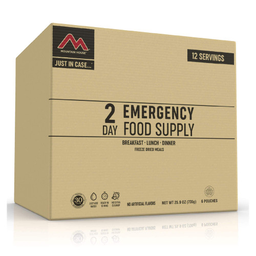 Mountain House Just in Case 2-Day Emergency Food Supply