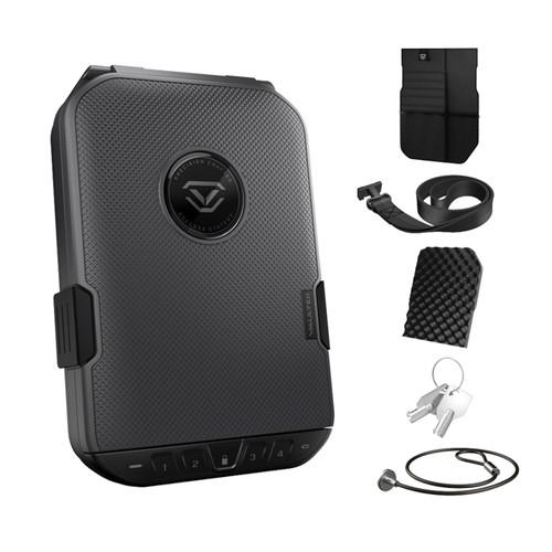 VAULTEK LifePod Weather Resistant Lockable Storage Case  -Limited Edition Titanium Gray Value Package