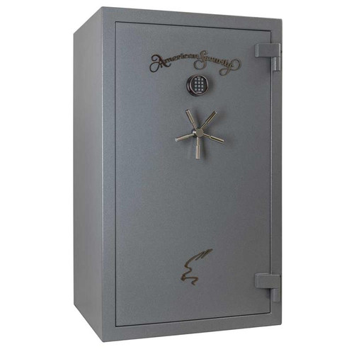 American Security NF6036E5 36 Gun 90-Minute Fire Safe - Textured Gunmetal Gray w/Light Kit
