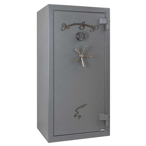 American Security NF6032E5 20 Gun 90-Minute Fire Safe - Textured Gunmetal Gray w/Light Kit