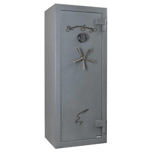 American Security NF5924E5 17 Gun 90-Minute Fire Safe - Textured Gunmetal Gray w/Light Kit