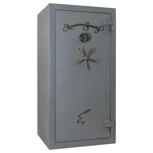 American Security NF6030E5 30 Gun 90-Minute Fire Safe - Textured Gunmetal Gray w/Light Kit